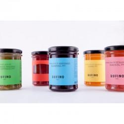 Mermelada gourmet RUFINO (sabores frutas)