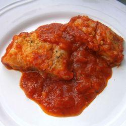 Bacalao en tomate
